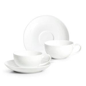 본차이나 쁘띠 에스프레소잔 80ml (2인조) / 커피잔