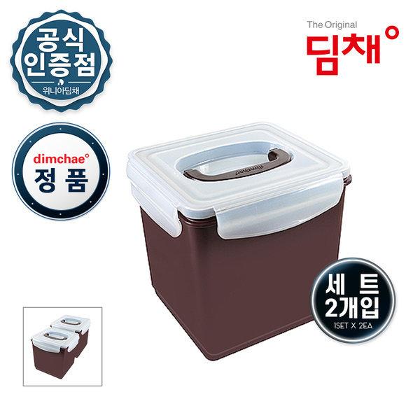 딤채 김치냉장고 위니아 6.5L 김치통2개구성 WD001109