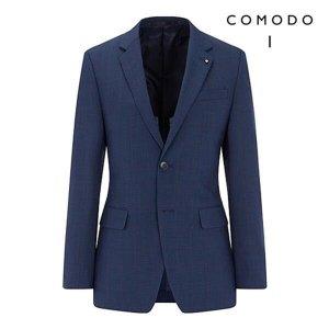 코모도스퀘어   하프클럽/코모도 코모도 목사 윈도우 체크 슬림핏 수트 자켓