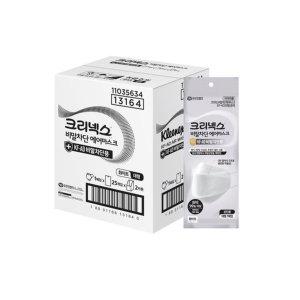 크리넥스 비말차단 에어마스크 화이트대형50매(1BOX)