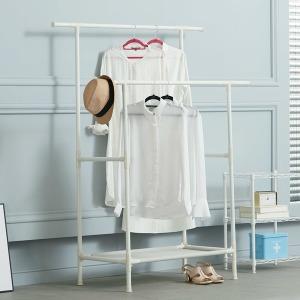 모듈랙 드레스룸 스탠드옷걸이 2단 베이직 원룸 행거