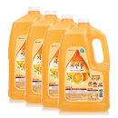 자연퐁 주방세제 오렌지 4kg 3+1개