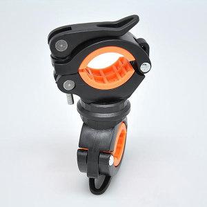 360도회전 자전거 라이트 전조등 후레쉬 거치대 J90