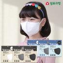 쉼표리빙 KF94 화이트 황사 미세먼지 마스크50매 소형