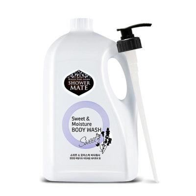 [샤워메이트] 샤워메이트 대용량 바디워시 4000ml +펌프증정