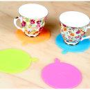 실리콘 컵받침 4개set/주방용품/조리도구/계란찜기