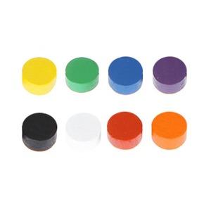 목재 디스크 (나무 토큰) 10mm 색상8종 원목교구 가베