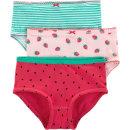 아동팬티 수박 3종세트 유아속옷 딸기 면 여아삼각