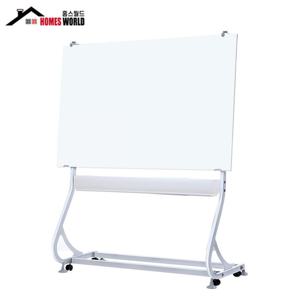 강화유리 화이트보드 자석 유리칠판 - 난반사 200X100