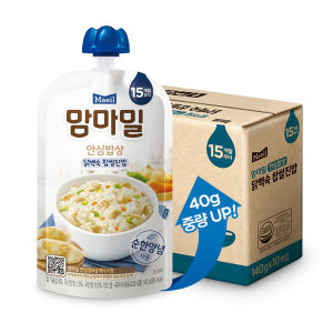 맘마밀 안심밥상 닭백숙찹쌀 140g 10팩