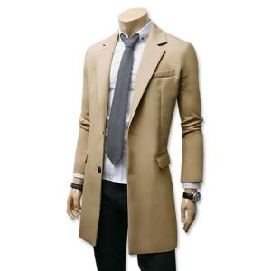 봄신상 코트/남자옷/모직 자켓 하프 쟈켓 롱 울