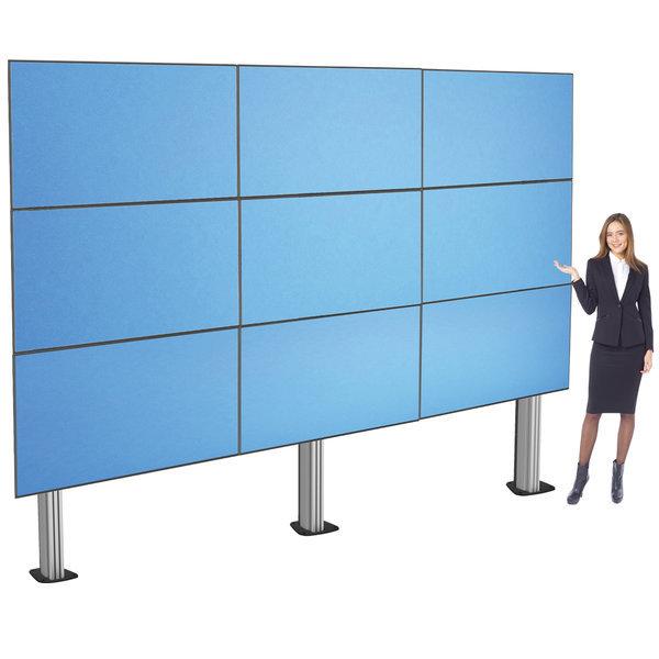 HD-6259MB 대형 TV 9대 앙카고정식 스탠드 안전한 설치