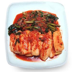 빛 국산 총각김치 2kg 열무/겉절이/김치/먹보야 100%V