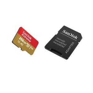 샌디스크익스트림 마이크로sd 256G 초고속 고성능-New