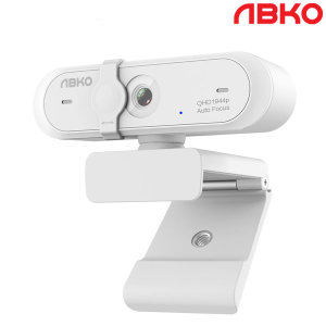 앱코 APC930 QHD 웹캠 화상카메라 PC카메라 캠 화이트