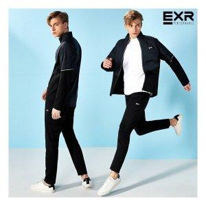 EXR  남성 싱글 트레이닝 세트 블랙