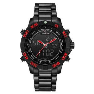 정품 골든아워 GH112 블랙 레드 정장시계 손목 시계