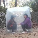 등산쉘터 비박비닐 캠핑비닐 백패킹 3-4인용(4각)
