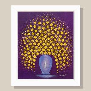 꽃피는향기 꽃그림 그림액자 유화그림 풍수그림 12호