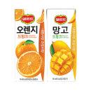 델몬트 오렌지 + 망고드링크팩 24+24