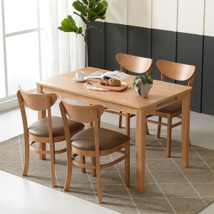 핀란디아 콜린 4인식탁세트(의자4) /의자포함 식탁셋트