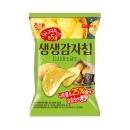 생생감자칩 다시마소금 60g 1봉 /간식/안주