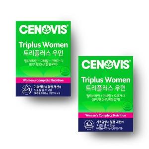 여성 트리플러스우먼 멀티비타민미네랄 90캡슐x2개