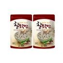 (국산) 찰오곡밥 600g x 2봉