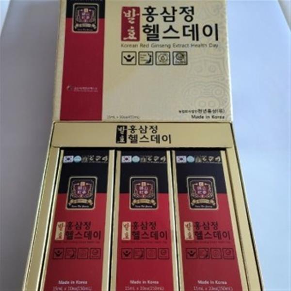 천년홍삼(유) 발효 홍삼정헬스데이 면역력증진 15mlx6