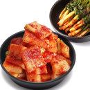 전라도 석박지1kg+파김치500g/김치/반찬 100우리농산A
