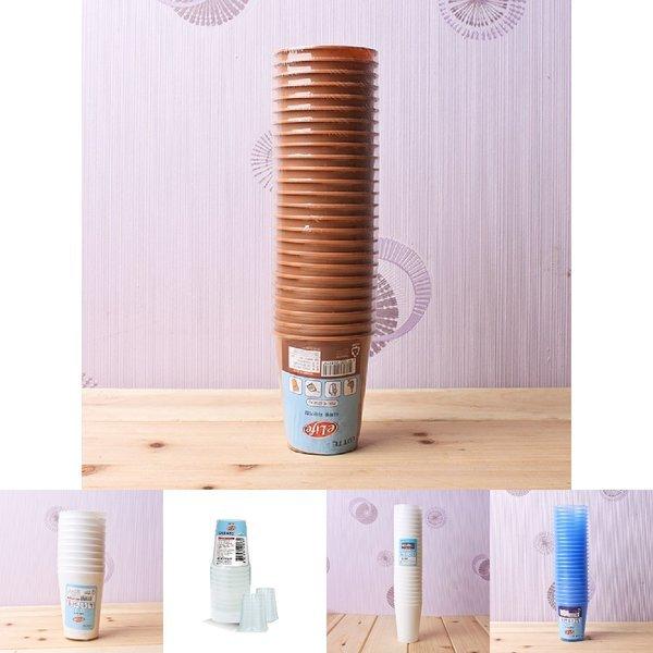 25p 롯데 이라이프 다회용 자판기컵(커피) 야외용 컵