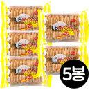 (무배)엘리스 레몬향비스킷 150g x 5봉/크림오/오레오