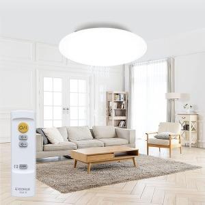 아이리스 LED방등 거실등 형광등 리모컨 대형CL12D-5.0