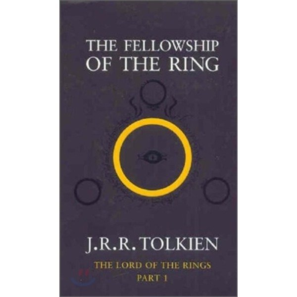 The Lord of the Rings Vol 1 : Fellowship of the Ring  J  R  R  Tolkien