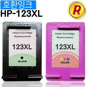HP123XL 호환 잉크 검정 HP123 블랙 대용량 HP1110외