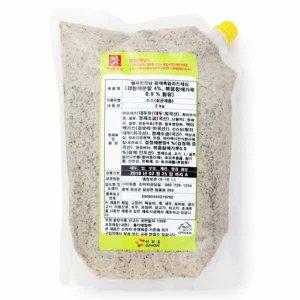 참깨흑임자드레싱 (2kg) / 검정깨분말 고소함