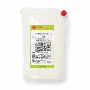 요거트드레싱 (2kg) / 새콤한맛 플레인요거트