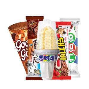 인기 아이스크림 5종 6개씩 30개