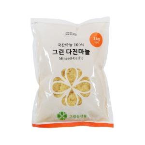 국내산 냉장 다진마늘 1kg / 주문당일다진