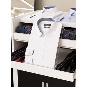 (신세계타임스퀘어점패션관)F/W 화이트컬러 남성클래식 남성예복 드레스 와이셔츠(LZRTC70WH02)