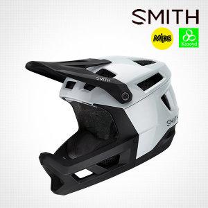 스미스 메인라인 MIPs 화이트-블랙 풀페이스 헬멧