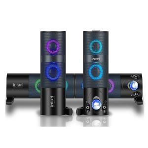 RGB LED 라이팅 2in1 사운드바 스피커 IK-KS1500 인켈
