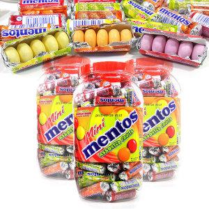 농심정품 미니멘토스 10g x 100개 사탕