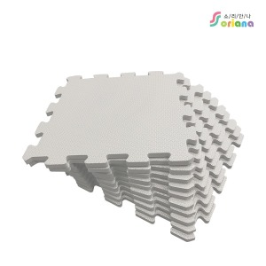 소리안나)파스텔 퍼즐매트/안전 놀이방매트 10mm 10장