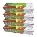 SET 지퍼백 (대) 25x30 20매x4개 (총80매)