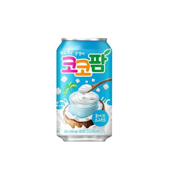 코코팜 화이트 340ml 캔