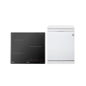 LG 디오스 전기레인지 BEI3GST2 식기세척기 DFB22W
