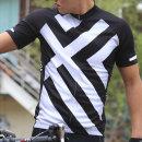 세컨윈드 반팔져지 엑스 여름 자전거의류 짚업 등산