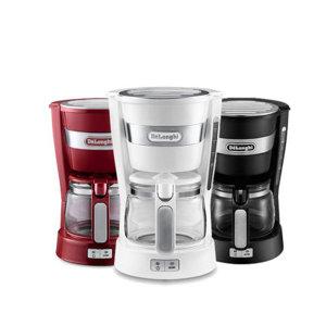 드롱기 미니드립 커피메이커ICM14011 /650ml/ 블랙
