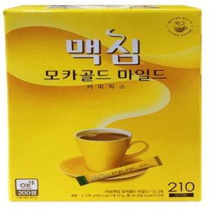 맥심 모카골드 마일드 210개입 무료배송 + 할인